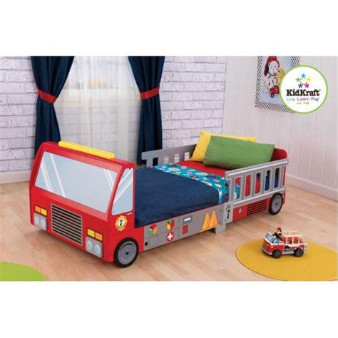 toddler bed boys fire truck toddler bed jd kidz australia