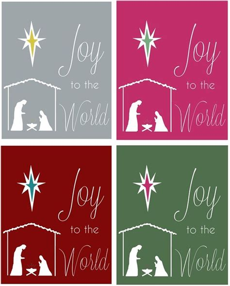 printable version of joy to the world french linen console centsational girl