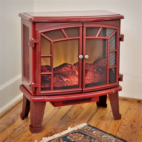 duraflame electric fireplaces duraflame 950 cranberry electric fireplace stove with