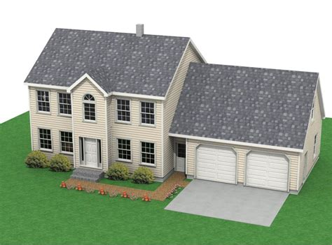 colonial garage plans colonial houses with attached garage colonial southern