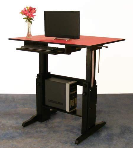 Diy Height Adjustable Desk 17 Images About Diy Standing Desk On Pinterest Standing Desks Adjustable Height Desk And 150 Lbs