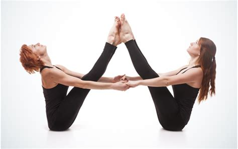 double boat pose partner yoga quotes quotesgram