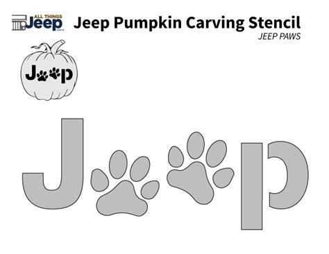 jeep logo stencil all things jeep jeep pumpkin carving templates