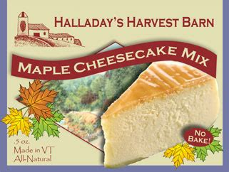 The Harvest Mix Fruit Cheesecake Portion halladay s cooking classes contest maple recipes