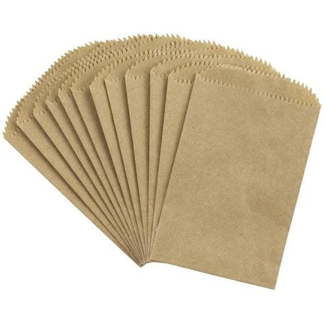 small paper bag pattern kraft small paper bags from canvas corp 12 bags to package