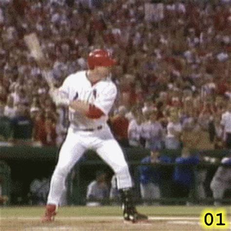 mark mcgwire swing do as they did not as they say