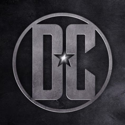 Dc Logo fan made justice league style dc logo dc cinematic
