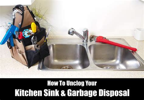 How To Unclog Kitchen Sink Drain With Garbage Disposal How To Unclog A Sink Garbage Disposal Kitchensanity