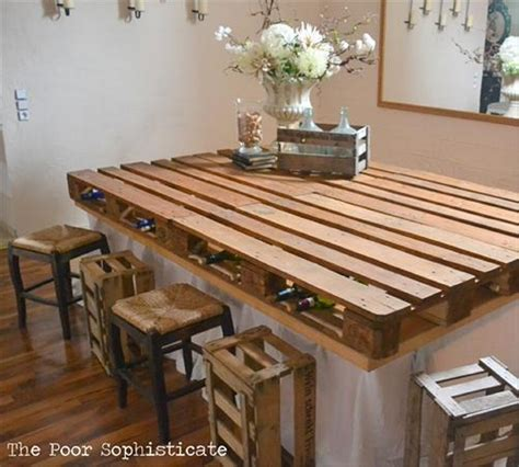 Recycled Wood Pallet Bar Ideas   Pallet Ideas: Recycled