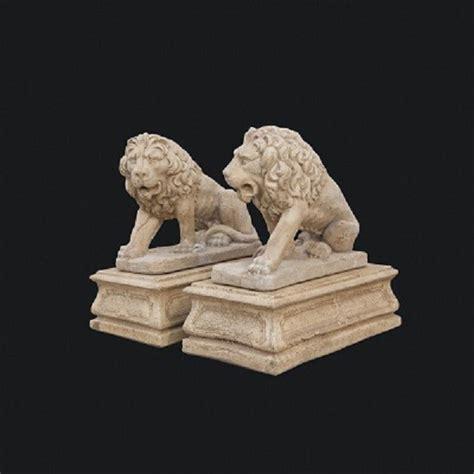 sfere per lioni da giardino oggettistica animali arte sacra pigna sfere in cemento