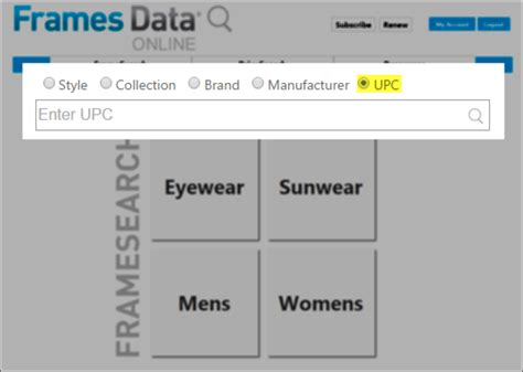 Upc Lookup Search By Upc On Framesearch