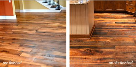 Prefinished Hardwood Flooring Vs Unfinished Olde Wood Helpful Articles About Wood Ohio