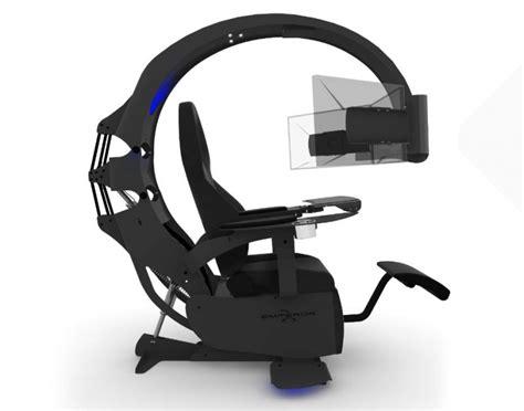emperor computer chair mwe lab emperor xt motorised ergonomic gaming workstation