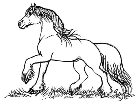 printable coloring pages clydesdale horses clydesdale paint horses coloring pages coloring pages