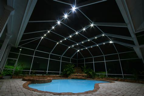 low voltage pool cage lighting nebula lighting systems rail light system