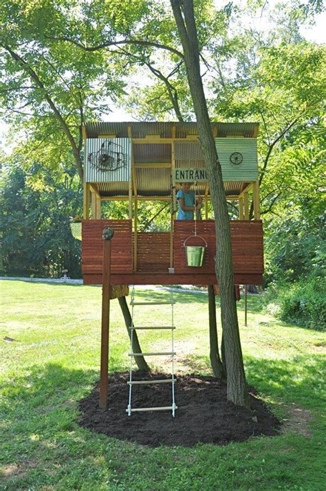 cheap tree house plans cheap tree house plans inspirational 33 simple and modern kids tree house designs freshnist