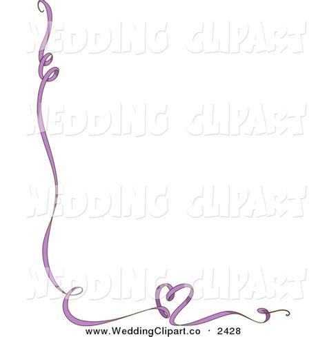 Wedding Border Hearts by Free Wedding Ribbon Border Clip 27
