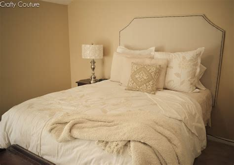 Cloth Covered Headboards by Crafty Couture Update Through Pictures