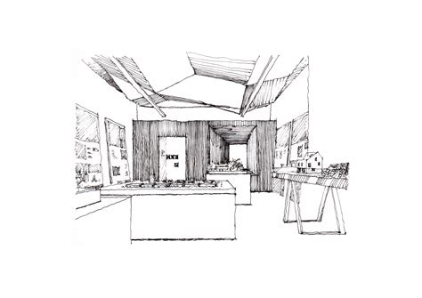 Desks gallery of 42 sketches drawings and diagrams of desks and