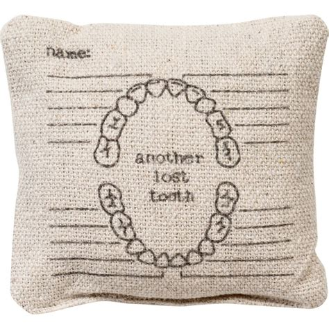 Lost Tooth Pillow by Another Lost Tooth Pillow 183 Proper 183 Store