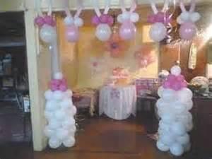 decoraci 243 n con globos para baby shower