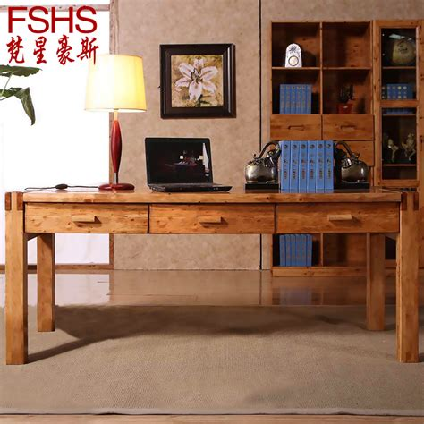 Wood Desks For Home Office Fshs Cedar Wood Ikea Computer Desk Desktop Minimalist Home Office Desk Table And Desk 18 Jpg