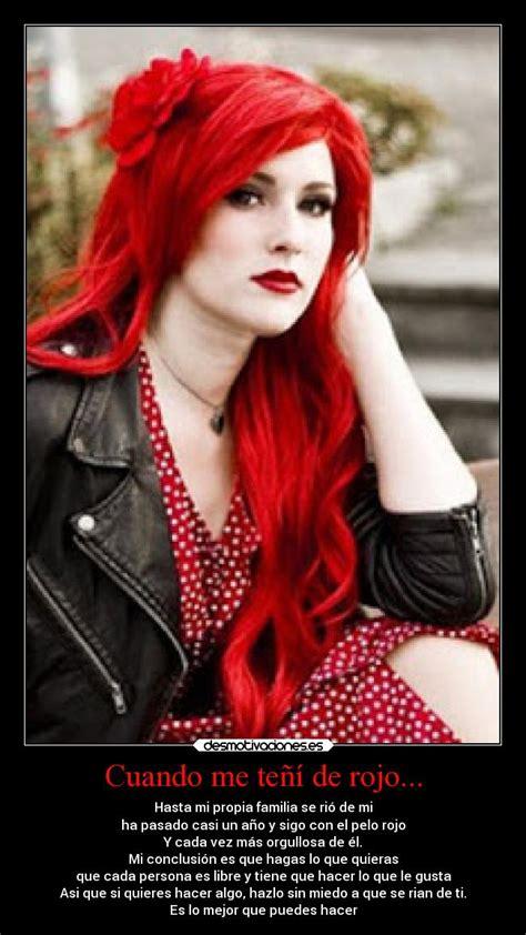 imagenes de tintes rojos fuertes cuando me te 241 237 de rojo desmotivaciones