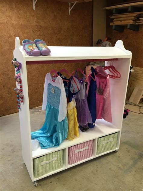 diy clothes storage diy dress up station wilker do s