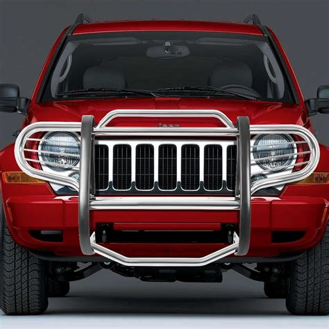 Jeep Liberty Bumper 02 07 Jeep Liberty Kj Front Bumper Protector Brush Grille