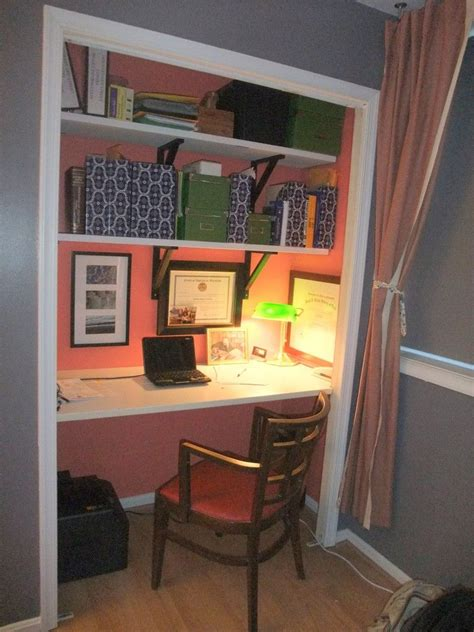 small table ls for bedroom convert a wide closet to an office space the gorgeous