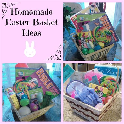 homemade easter basket ideas under 10