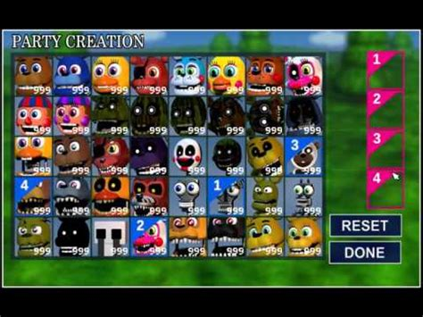 Search All The World Fnaf World Where To Find All Characters Gameonlineflash
