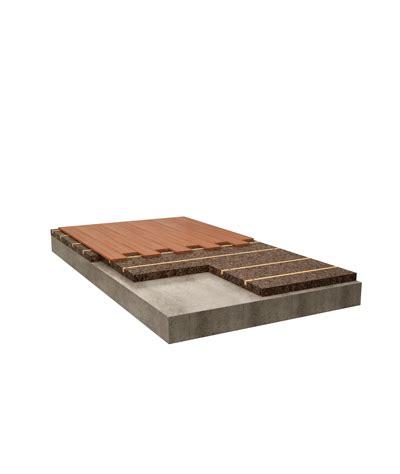 isolante per pavimenti supporto in sughero per pavimenti inchiodati