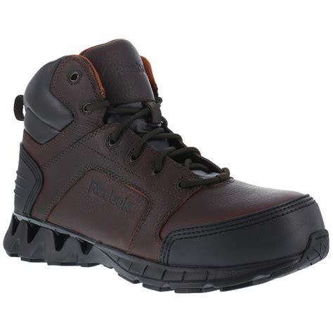 mens reebok boots reebok zigkick 6 quot s composite toe work boots 670928