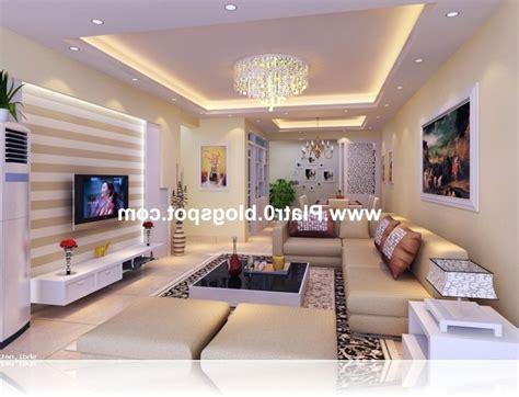 deco plafond decoration placoplatre plafond salon