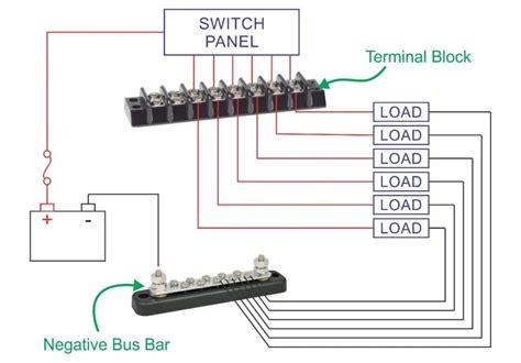 marine terminal blocks 4 to 20 circuits new wire marine
