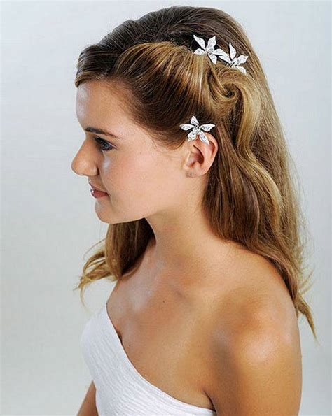 simple and hairstyle top 10 bridal hairstyles for medium length hair