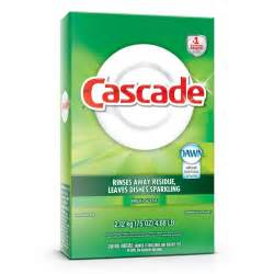 Dishwasher Soap Cascade Powder Fresh Scent Cascade Detergent