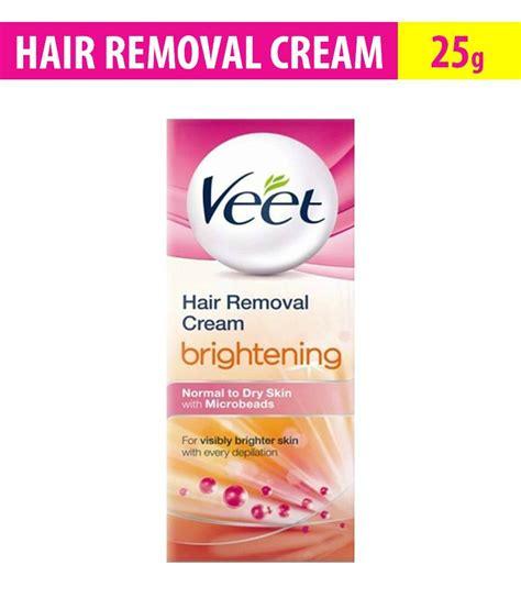 Veet Hair Remival 25 G veet silk fresh hair removal brightening normal
