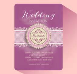 wedding invitation card design template free wedding invitation card templates free vector in adobe