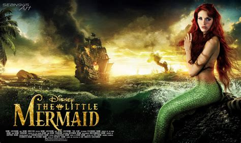 the little mermaid the little mermaid live action by sean945 on