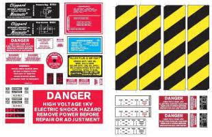 Proton Pack Decals Sticker Label Sheet Ghostbusters Diy Proton Pack