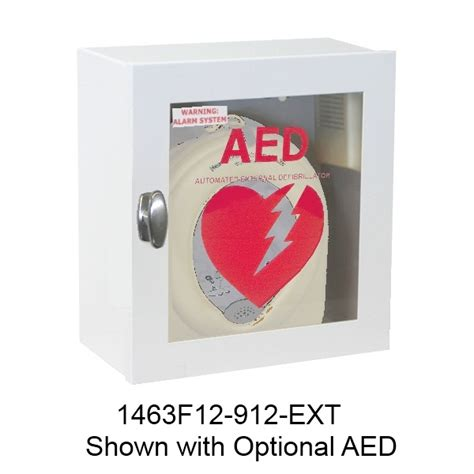 jl industries ext cabinets 1463 series surface mounted cabinet for aed s activar