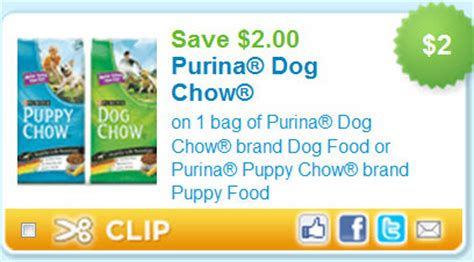 purina puppy chow coupons 2 00 1 purina chow kroger deal kroger krazy