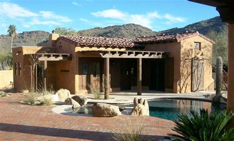 arizona style homes mexican style homes casitas custom home builders and