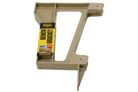 bench seat brackets composite bench bracket arbordeck