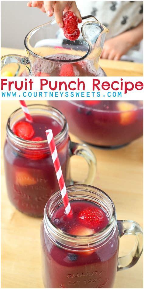 fruit punch recipe fruit punch recipe s