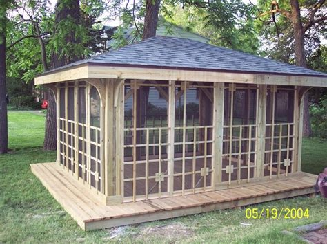 Stand Alone Patio stand alone gazebo traditional patio chicago by