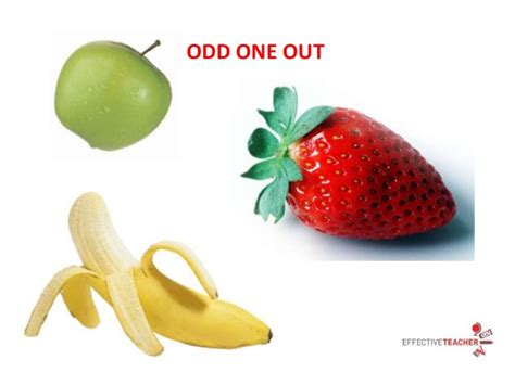 the odd one out odd one out ppt