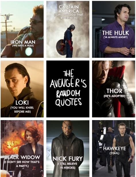 top marvel film quotes random avengers quotes hahah hawkeye marvel